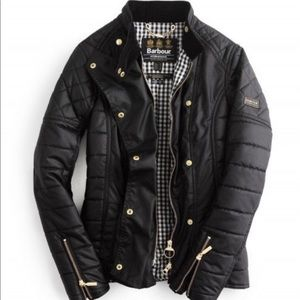 NWT Barbour Waxed Axle Jacket